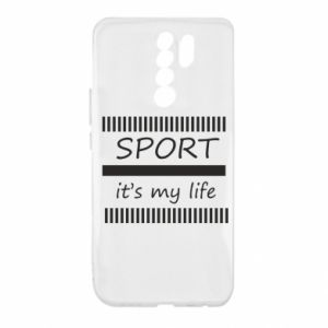 Etui na Xiaomi Redmi 9 Sport it's my life