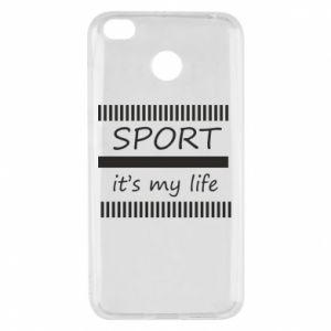 Etui na Xiaomi Redmi 4X Sport it's my life