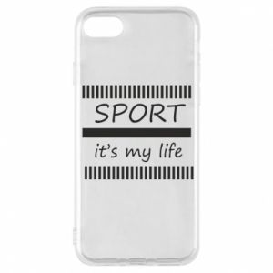 Etui na iPhone 8 Sport it's my life