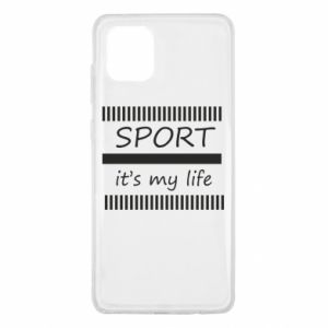 Etui na Samsung Note 10 Lite Sport it's my life