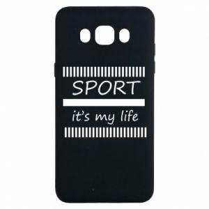 Etui na Samsung J7 2016 Sport it's my life