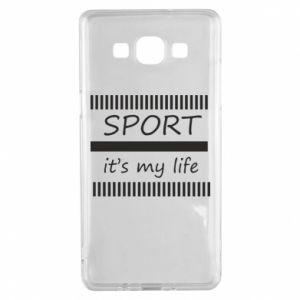 Etui na Samsung A5 2015 Sport it's my life
