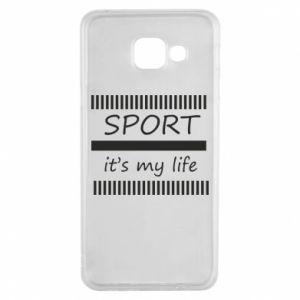 Etui na Samsung A3 2016 Sport it's my life