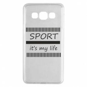 Etui na Samsung A3 2015 Sport it's my life