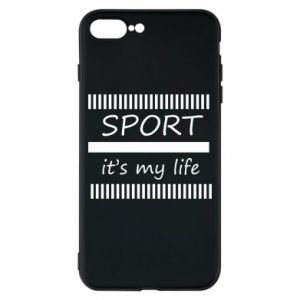 Etui na iPhone 8 Plus Sport it's my life