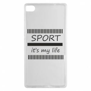 Etui na Huawei P8 Sport it's my life