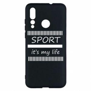 Etui na Huawei Nova 4 Sport it's my life