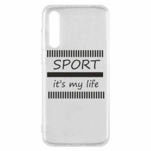 Etui na Huawei P20 Pro Sport it's my life