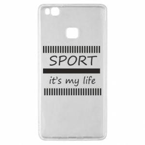 Etui na Huawei P9 Lite Sport it's my life