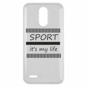 Etui na Lg K10 2017 Sport it's my life