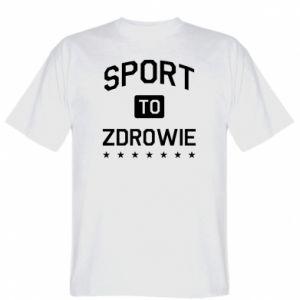 T-shirt Sport is health