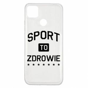 Xiaomi Redmi 9c Case Sport is health