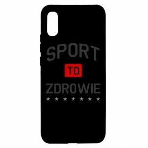 Xiaomi Redmi 9a Case Sport is health