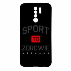 Xiaomi Redmi 9 Case Sport is health