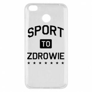 Xiaomi Redmi 4X Case Sport is health