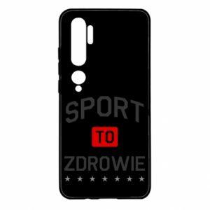 Xiaomi Mi Note 10 Case Sport is health