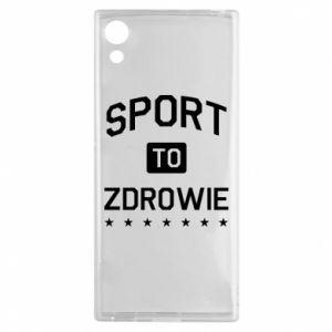 Sony Xperia XA1 Case Sport is health