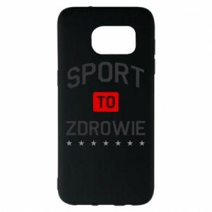 Samsung S7 EDGE Case Sport is health