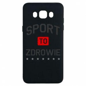 Samsung J7 2016 Case Sport is health