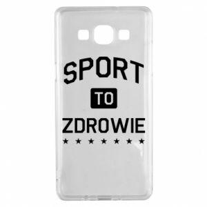 Samsung A5 2015 Case Sport is health