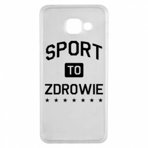 Samsung A3 2016 Case Sport is health