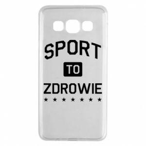 Samsung A3 2015 Case Sport is health