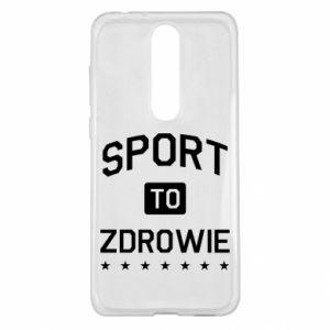 Nokia 5.1 Plus Case Sport is health