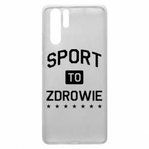 Huawei P30 Pro Case Sport is health