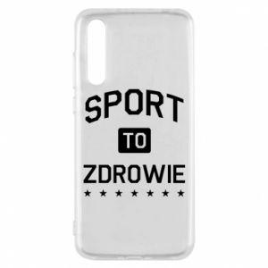 Huawei P20 Pro Case Sport is health