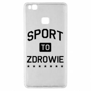 Huawei P9 Lite Case Sport is health