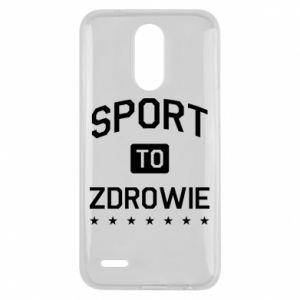 Lg K10 2017 Case Sport is health