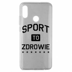 Huawei Honor 10 Lite Case Sport is health
