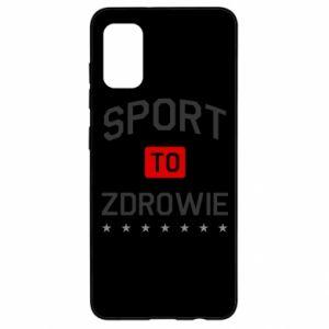 Samsung A41 Case Sport is health