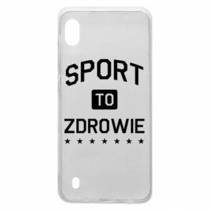 Samsung A10 Case Sport is health