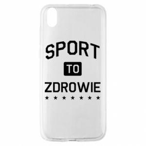 Huawei Y5 2019 Case Sport is health