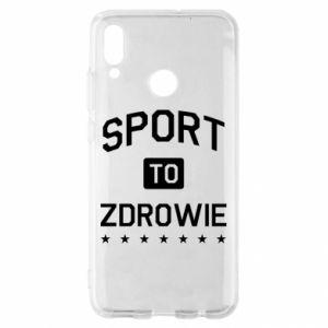 Huawei P Smart 2019 Case Sport is health