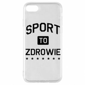 iPhone SE 2020 Case Sport is health