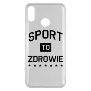 Huawei Y9 2019 Case Sport is health
