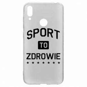 Etui na Huawei Y7 2019 Sport to zdrowie
