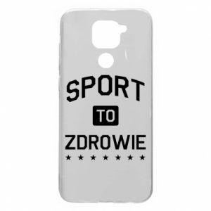 Etui na Xiaomi Redmi Note 9/Redmi 10X Sport to zdrowie