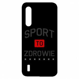 Etui na Xiaomi Mi9 Lite Sport to zdrowie