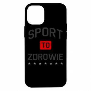 Etui na iPhone 12 Mini Sport to zdrowie