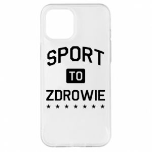 Etui na iPhone 12 Pro Max Sport to zdrowie