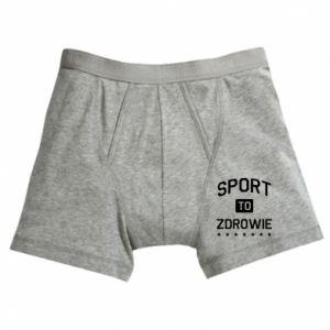 Boxer trunks Sport is health