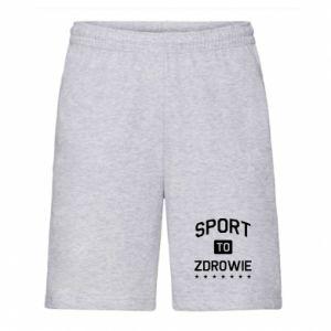 Men's shorts Sport is health
