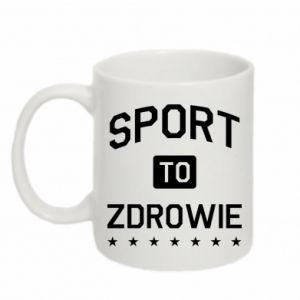 Mug 330ml Sport is health