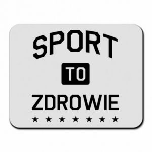 Mouse pad Sport is health