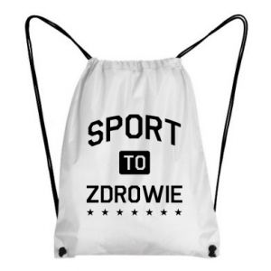 Backpack-bag Sport is health