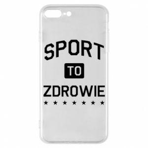 iPhone 7 Plus case Sport is health