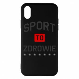 iPhone X/Xs Case Sport is health